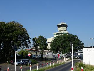 Control tower of the airport Tegel