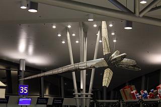 Sculpture in terminal 2 at Helsinki Vantaa airport