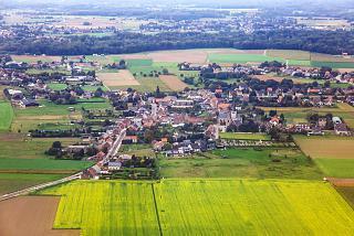 Деревня Хумельгем рядом с аэропортом Брюссель