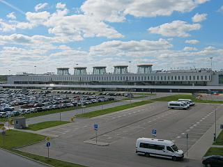 The old passenger terminal of Pulkovo airport
