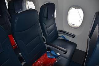 "The passenger seat in Boeing-737-800 of airline ""Russia"""