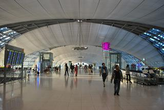 Sector E of the airport is Bangkok Suvarnabhumi