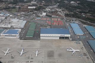 Зона техобслуживания в аэропорту Токио Нарита