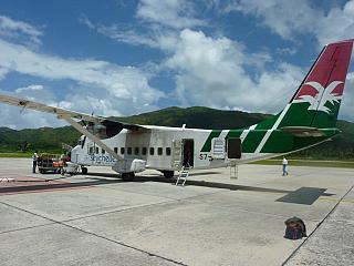 The Shorts 360 aircraft operated by Air Seychelles