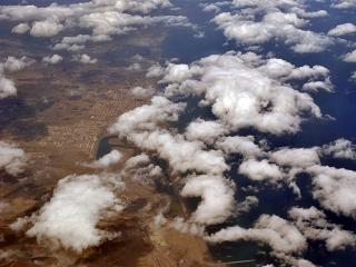 Clouds over the Oman