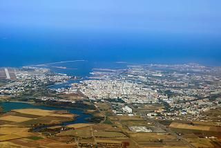 The city of Brindisi in Italy