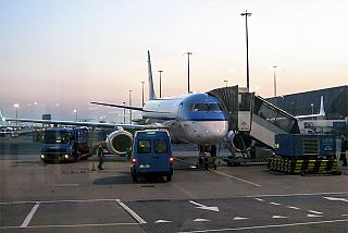 Самолет Embraer 190 авиакомпании KLM Cityhopper