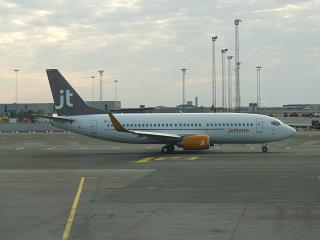 Boeing 737-700 airline Jet Time in Copenhagen airport Kastrup