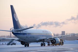 Боинг-737-500 EW-250PA авиакомпании