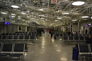 Зал ожидания в чистой зоне терминала B аэропорта Киев Борисполь