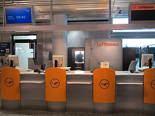 Representation of Deutsche Lufthansa at Frankfurt airport