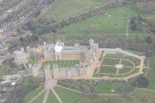The castle of the British Queen in Windsor
