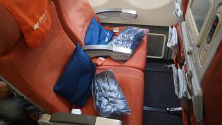 Пассажирские места экономического класса в самолете Airbus A330-200 авиакомпании Аэрофлот