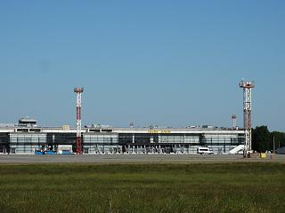 Conserved Terminal F at Kiev Borispol airport