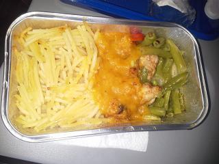 Питание на чартере Барселона-Волгоград Оренбургских авиалиний