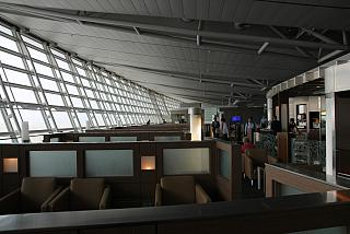 The business class lounge of Korean Air at the airport Seoul Incheon