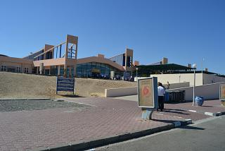 The passenger terminal of the airport of Marsa Alam