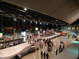 General view of terminal 2 of the airport Yerevan Zvartnots