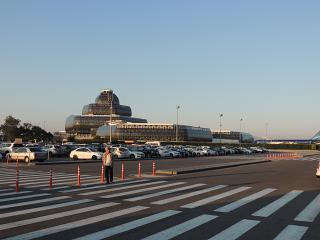 The terminal 2 of the airport of Baku named after Heydar Aliyev