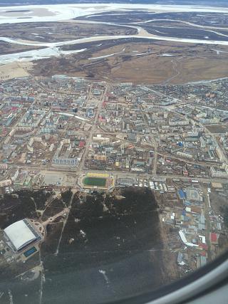 The centre of Yakutsk