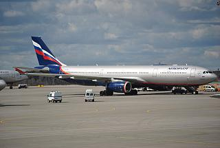 Airbus A330-200 of Aeroflot in Sheremetyevo airport