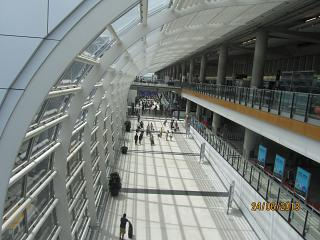 The Hong Kong airport
