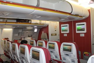 The cabin Airbus A330-300 Hainan airlines