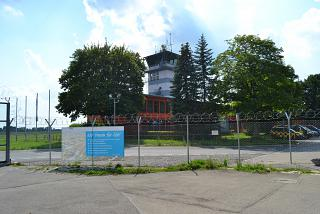 ATC tower at the airport of Memmingen
