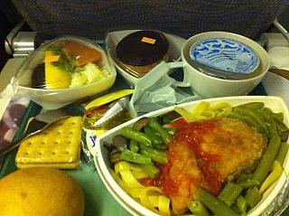 Nutrition business class Emirates airline Dubai-Seychelles