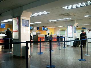 Стойки регистрации в аэропорту Краснодара