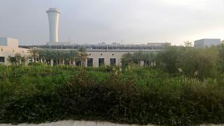 The garden is near the airport and tel Aviv Ben Gurion