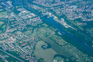The river Ruhr in Germany