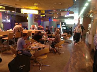 Business lounge terminal D domestic flights at Sheremetyevo airport