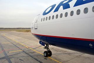 Самолет Боинг-777-200 Оренбургских авиалиний