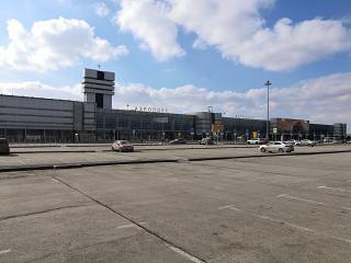Station square airport, Ekaterinburg Koltsovo