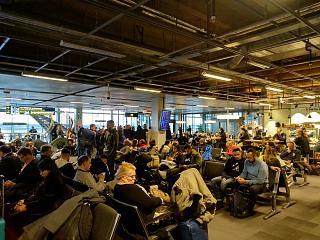 Накопитель для нешенгенских вылетов в аэропорту Стокгольм Арланда