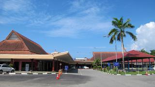 Passenger terminal airport Ambon Pattimura