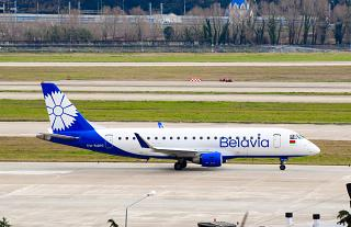 The Embraer 175 EW-512PO airlines Belavia Sochi airport