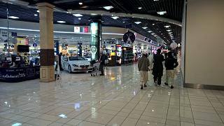 Shops at the airport of Bahrain