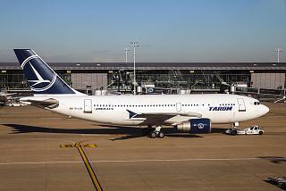 Airbus A310 авиакомпании TAROM в аэропорту Брюсселя