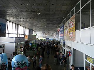 General view of the terminal of the Baikal airport of Ulan-Ude