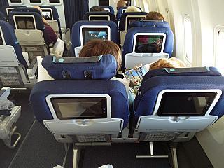 """Premium economy"" class on the Boeing-767-300 Condor airlines"