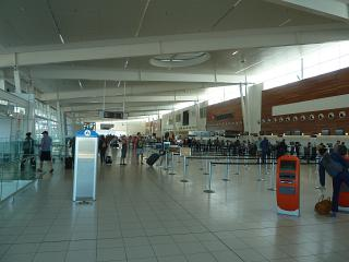 Hall check-in for flights at the airport Adelaide