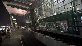 3 entry into the passenger terminal of the airport Hamad