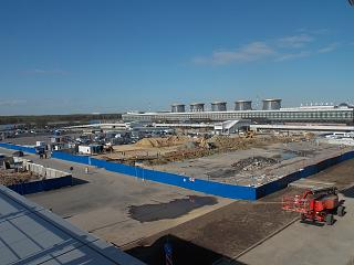 Reconstruction of the station square airport Saint Petersburg Pulkovo