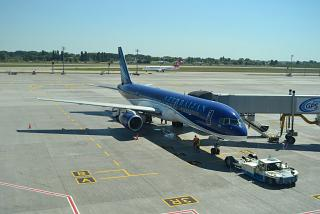 Boeing-757-200 Azerbaijan airlines at the airport Kiev Borispol