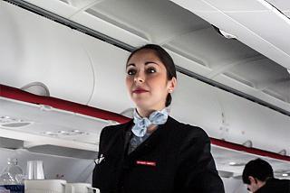 Бортпроводница авиакомпании Air France