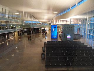Lounges in Terminal 1 of Barcelona airport