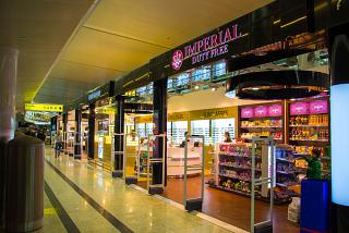 Shop Duty Free at the airport Moscow Sheremetyevo