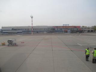 Аэровокзал внутренних линий аэропорта Чита Кадала